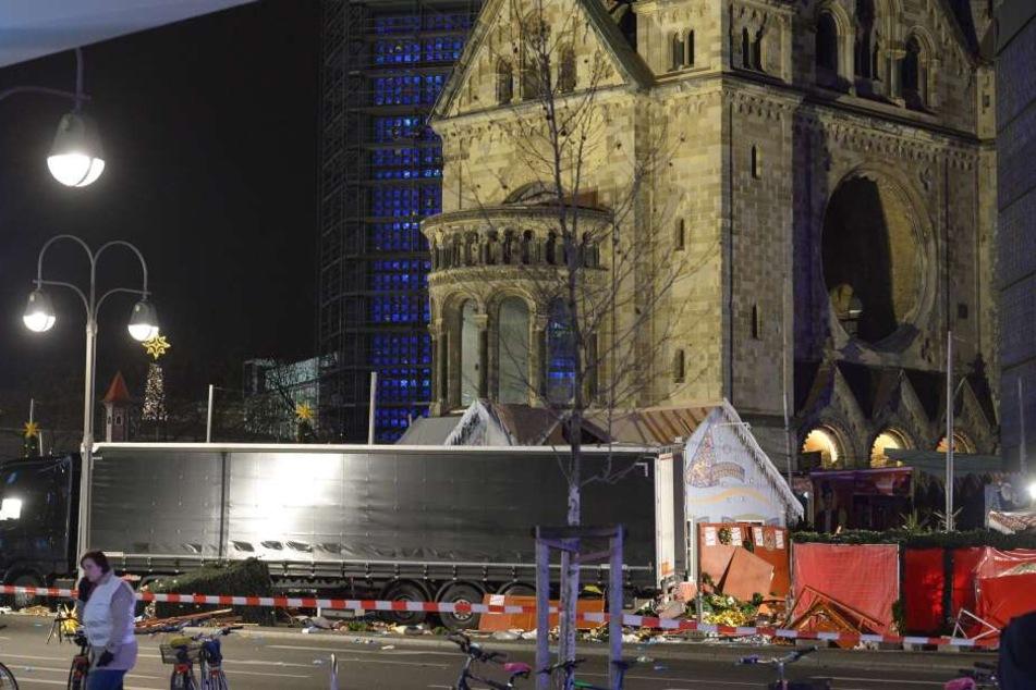 Das Attentat auf den Berliner Weihnachtsmarkt kostete 12 Menschen das Leben.
