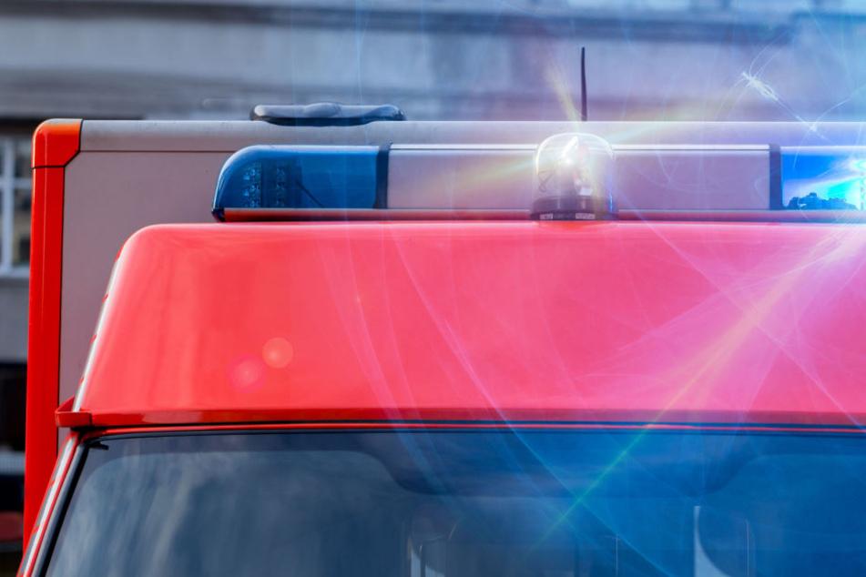 Der Rettungsdienst war gleich mit mehreren Fahrzeugen im Einsatz (Symbolbild).
