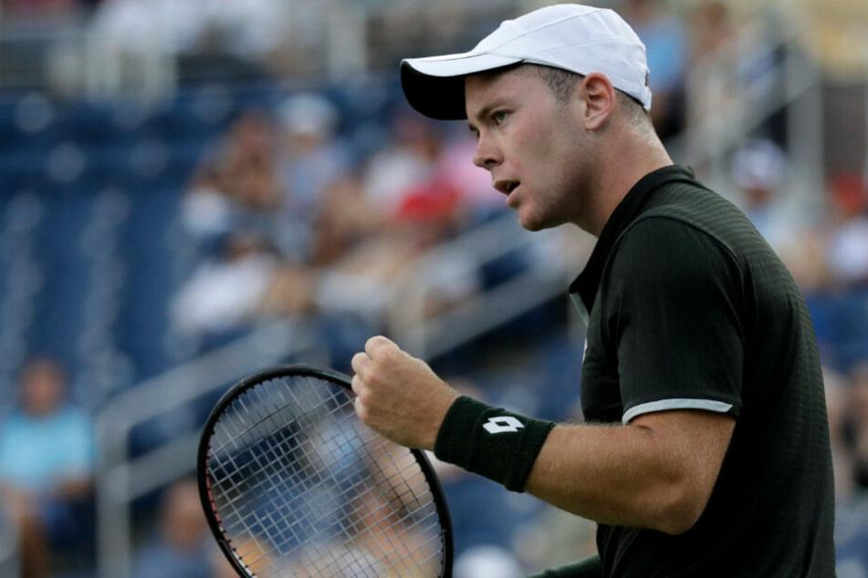 Dominik Koepfer erreichte in der vergangenen Saison überraschend das Achtelfinale der US Open.