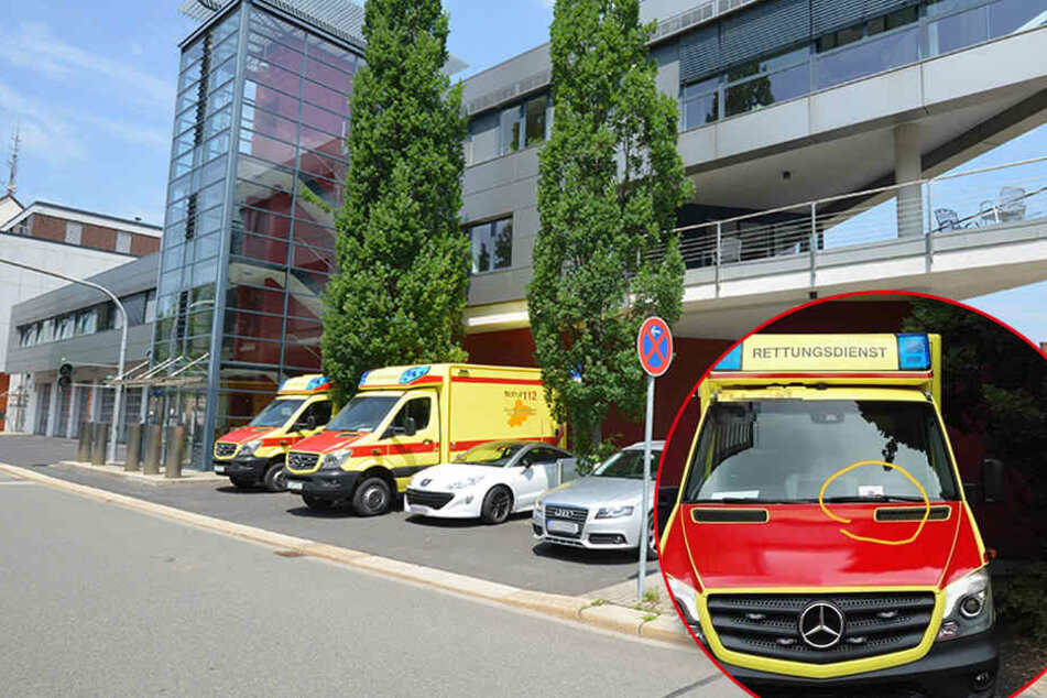 Skandal in Sachsen: Politessen kassieren Krankenwagen ab