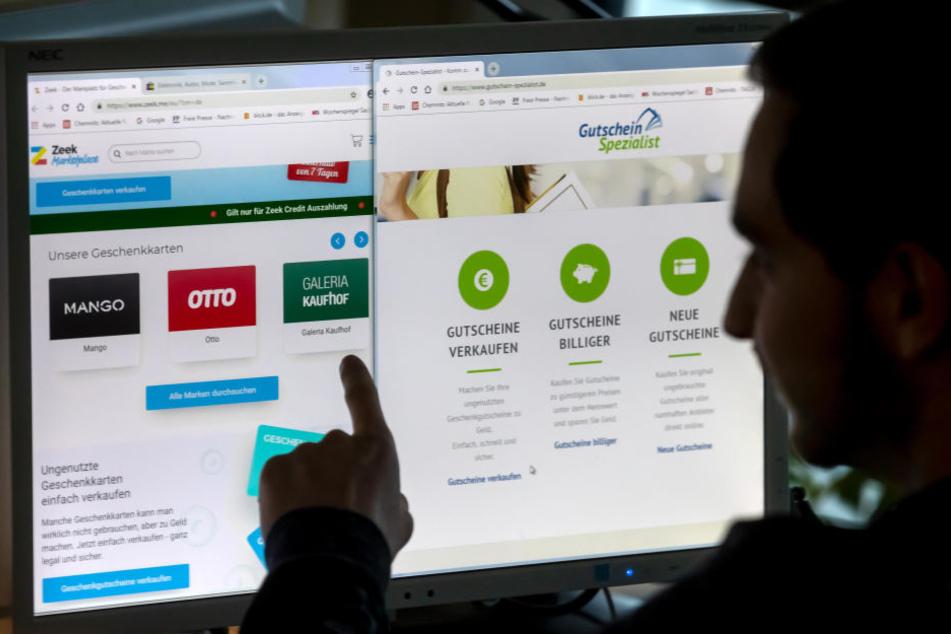 Wer seinen Gutschein umtauschen möchte, kann dies oftmals nur bei bestimmten Online-Anbietern tun. Dort gibt es circa 75 Prozent des Einkaufspreises zurück.