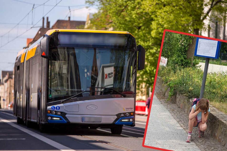 Leipzig: Eltern krank vor Sorge: Fahrer schmeißt Mädchen mitten in der Pampa aus Bus