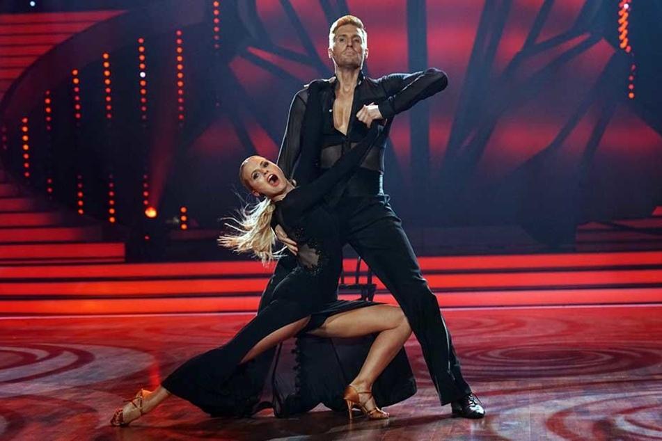 Mit seinem Tango erreichte Maximilian Arland 23 Jury-Punkte, doch das reichte nicht für die nächste Runde.