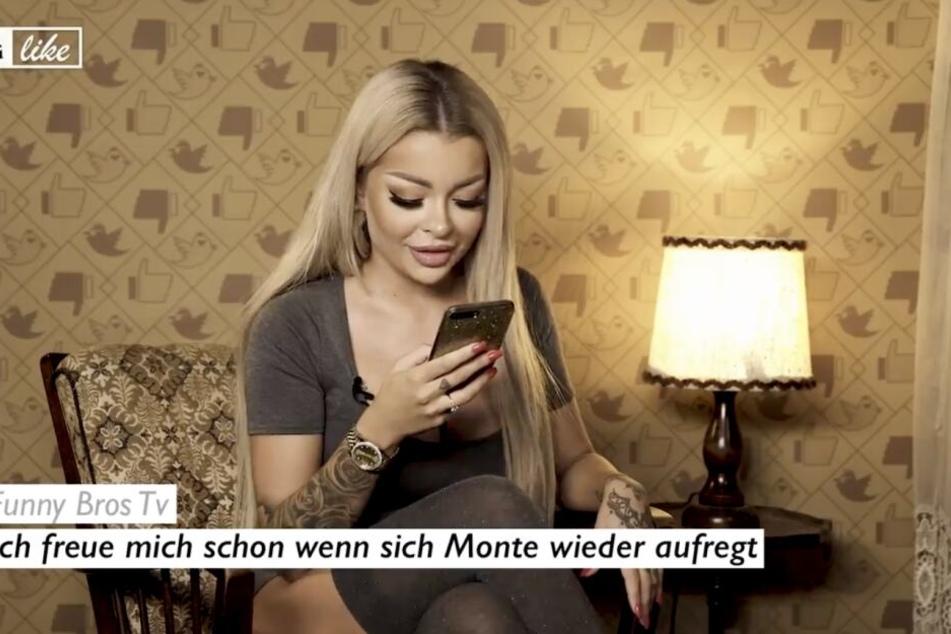 "In dem neusten ""Disslike""-Video teilte Katja gegen Montana Black aus."