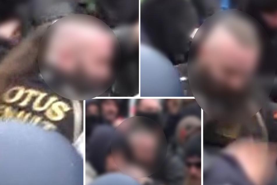 Die Polizei suchte mit diesen Bildern nach dem Mann.