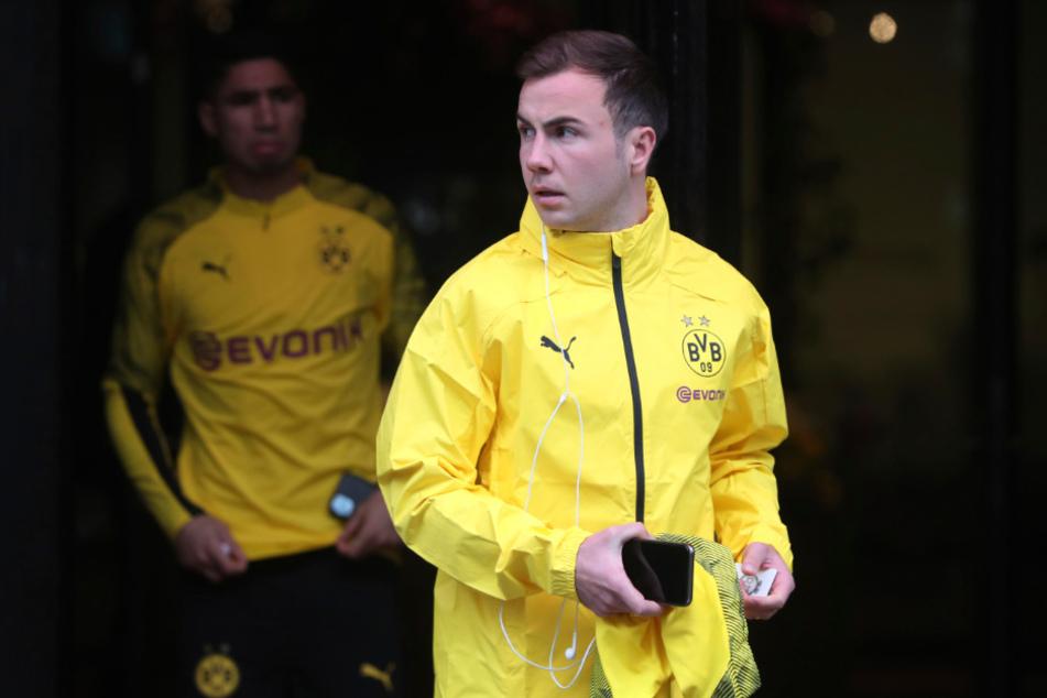 Packt in Sommer seine Sachen und kehrt seiner Borussia wohl den Rücken: Weltmeister Mario Götze (28).