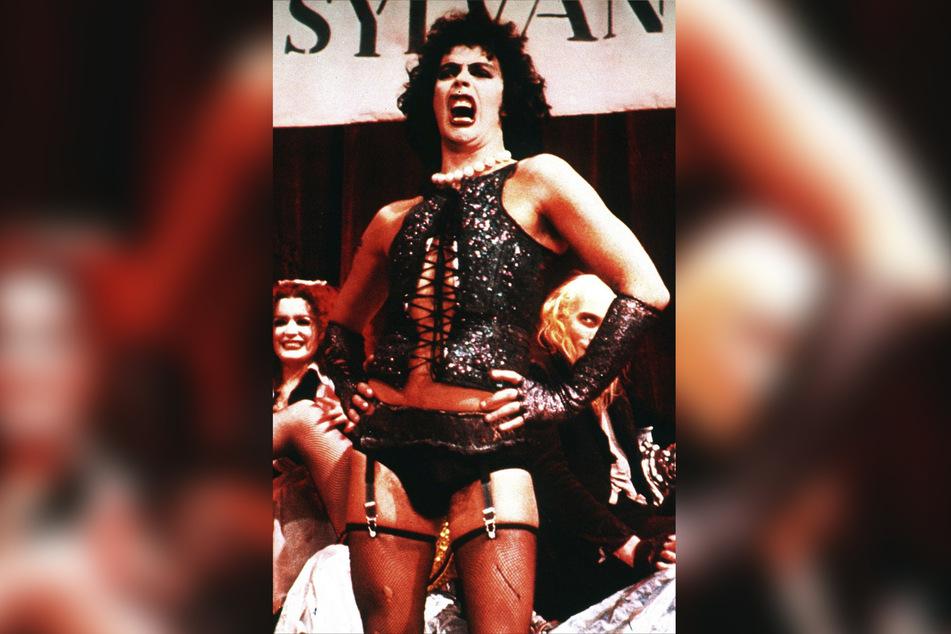 Tim Curry beeindruckte als Frank'N'Furter bei der Rocky Horror Picture Show.