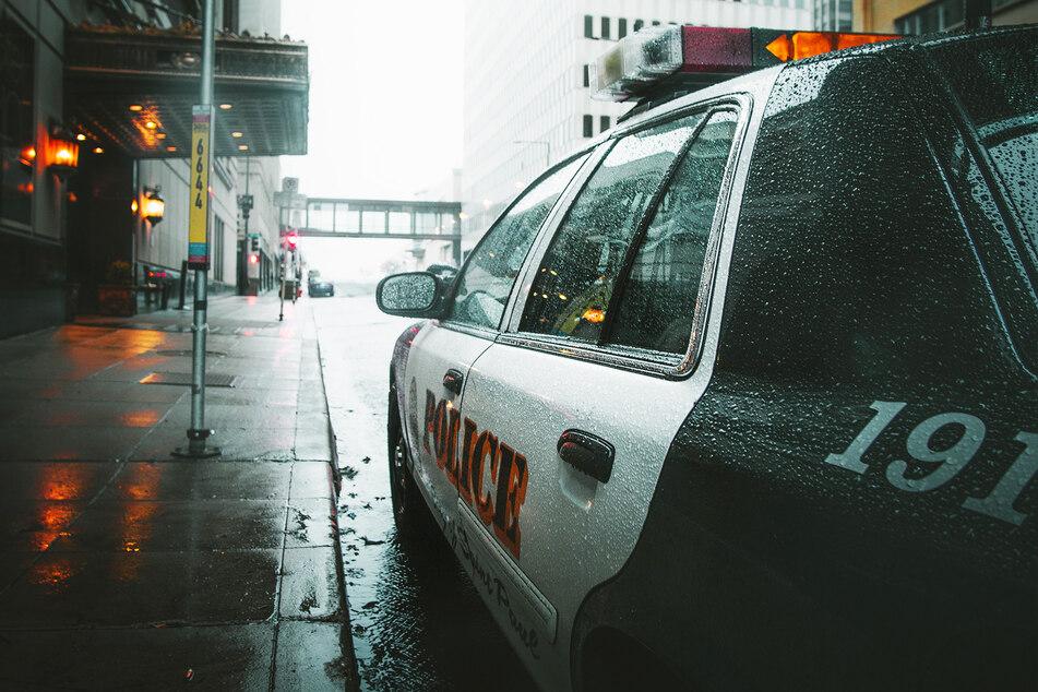 Ein Polizeiwagen steht am Straßenrand. (Symbolbild)