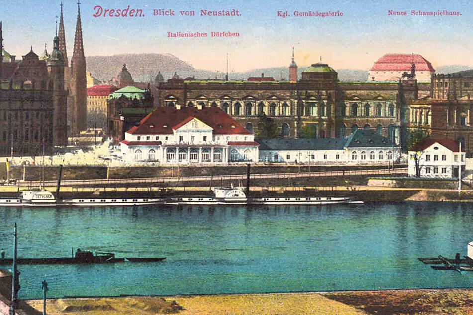 """Die """"Tetschen"""" schipperte schon 1910 auf der Elbe. Heute heißt sie PD """"Krippen""""."""