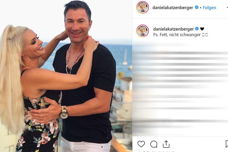 Strahlen um die Wette: Daniela Katzenberger (32) und Gatte Lucas Cordalis (52).