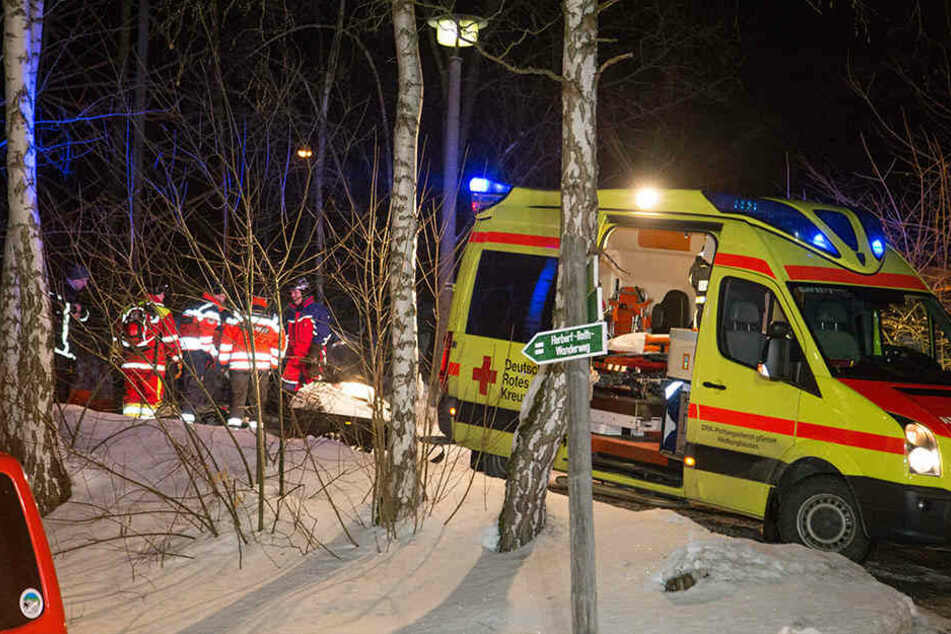 Der Mann wurde mit starken Unterkühlungen gefunden, die Frau war bereits tot.