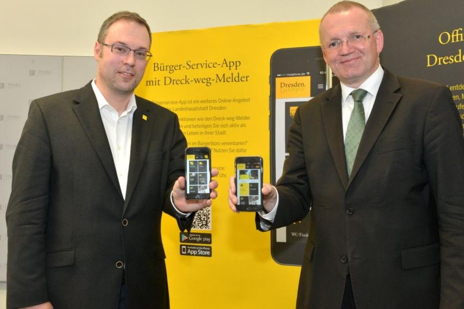 Wo ist das nächste Klo? Neue Apps für Dresdner und Touristen