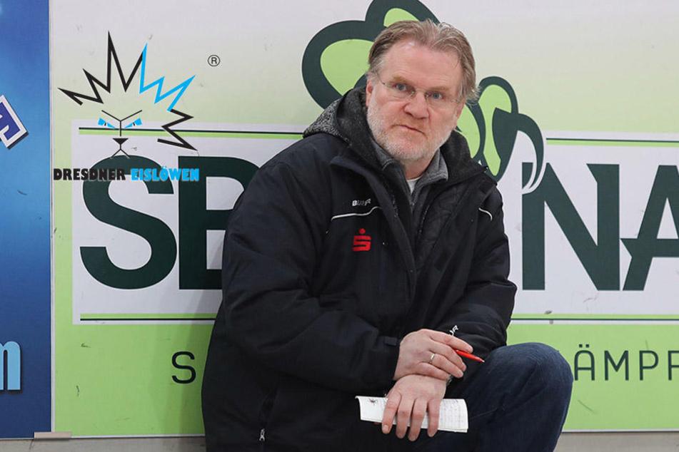 Jetzt doch! Ist er der neue Trainer der Dresdner Eislöwen?