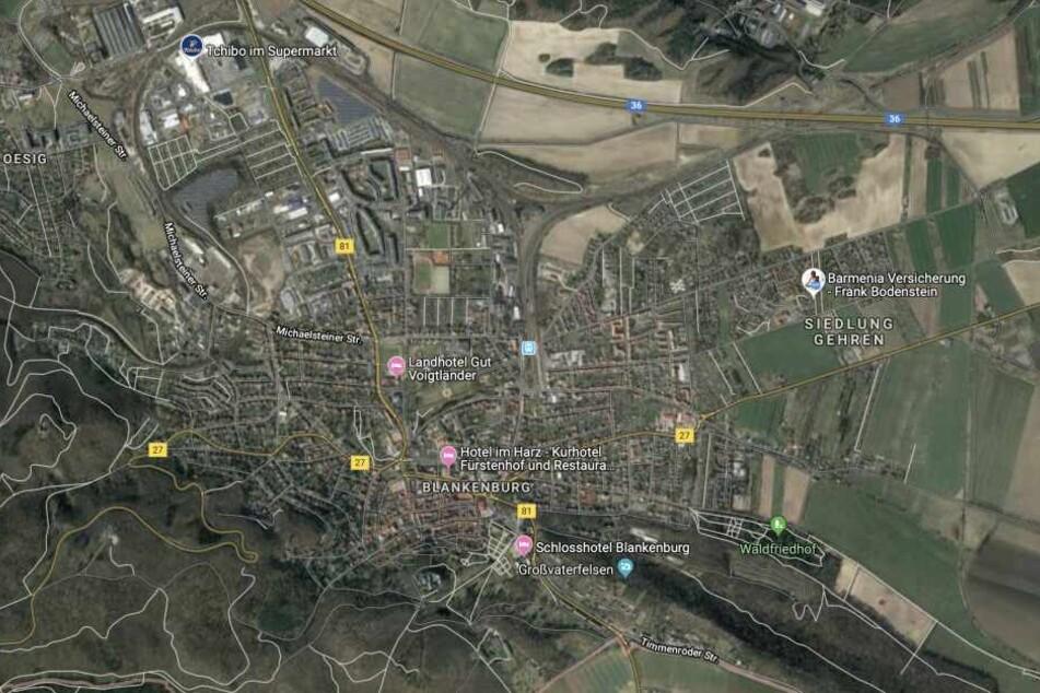 In Blankenburg im Landkreis Harz hat es eine Explosion gegeben.