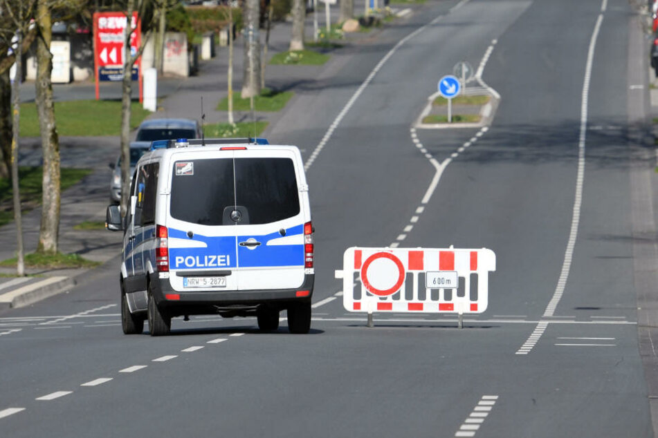 Die Straßen in Paderborn waren während der Entschärfung wie leer gefegt.