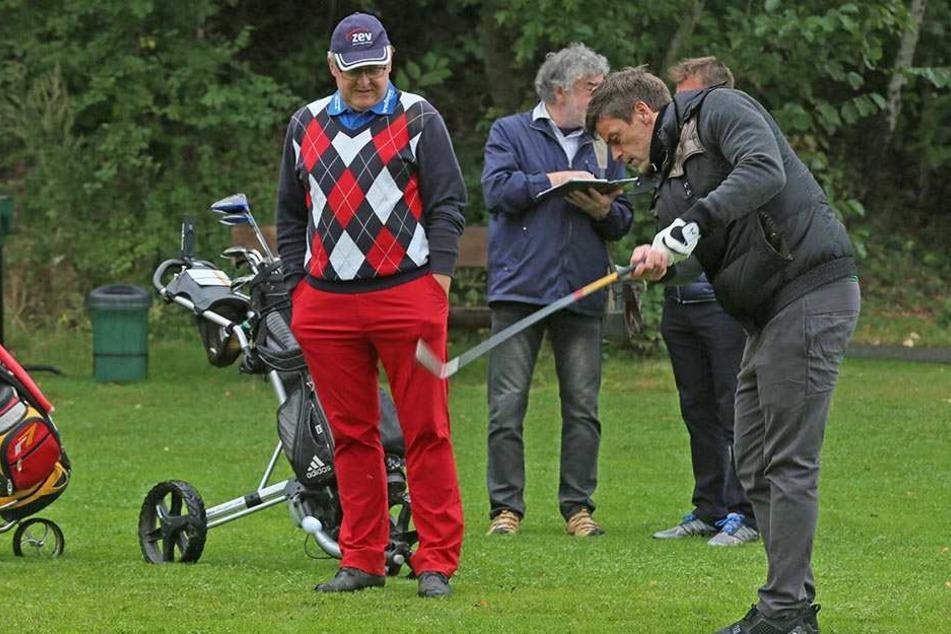 Vielleicht gönnt sich Torsten Ziegner zur Feier des Tages heute Nachmittag ja  eine Runde Golf ...