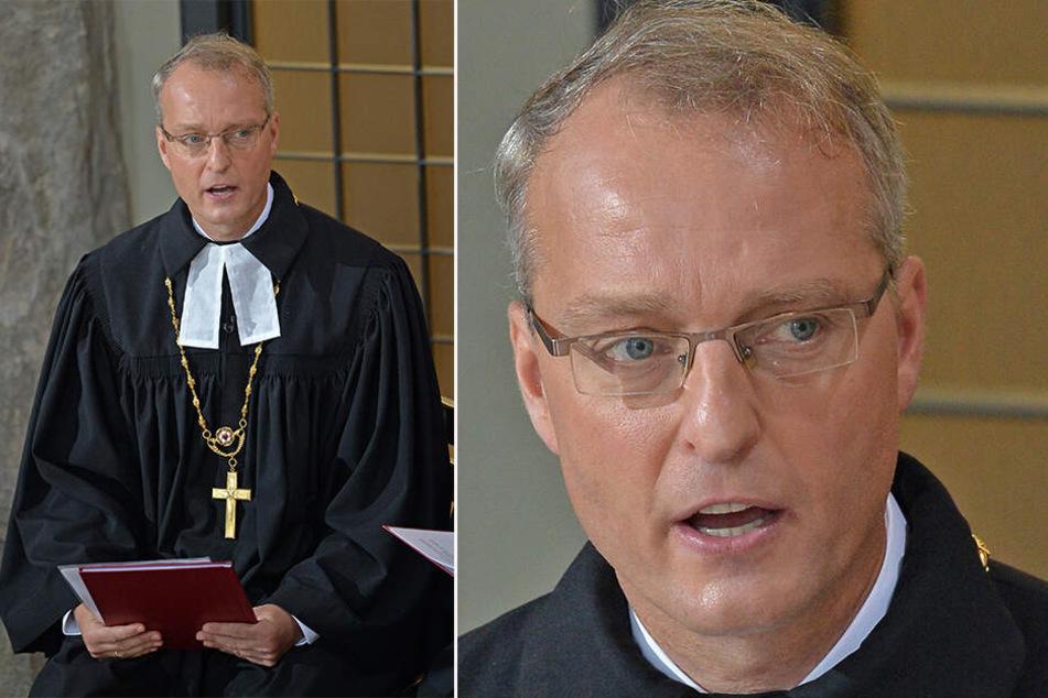 Carsten Rentzing (52) dürfte derzeit der umstrittenste Kirchenmann Deutschlands sein.