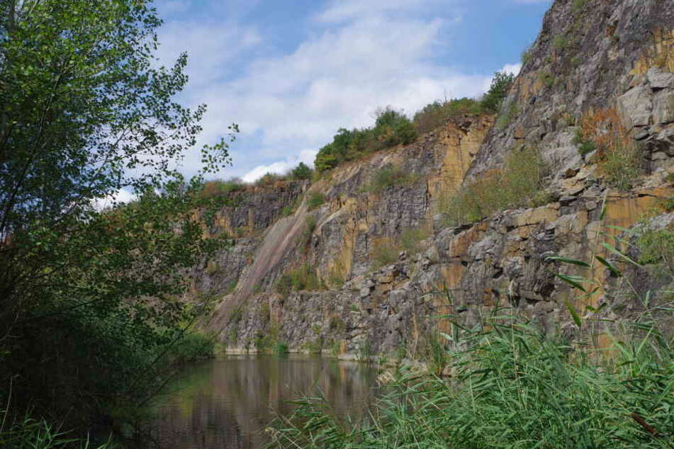 Der Holzberg in Böhlitz soll verfüllt werden. Die höchste Felswand in Mitteldeutschland droht zu verschwinden. Gleichzeitig sieht das verantwortliche Unternehmen Kafril eine Investition in die Zukunft in dem Projekt.