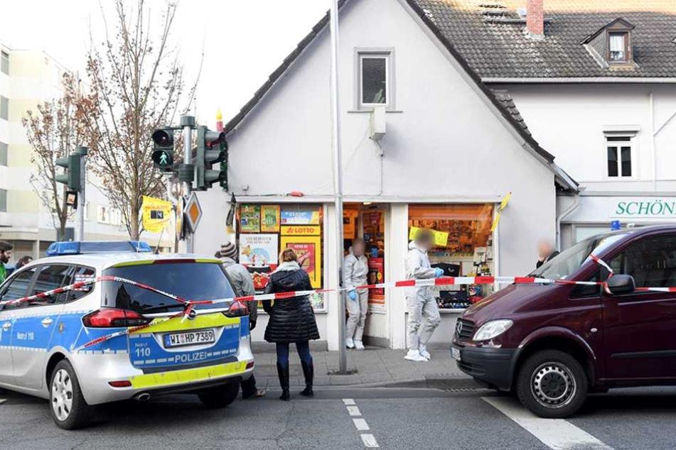 Der Tatort, an dem der Dynamo-Profi angeschossen, und seine Tante getötet wurde.