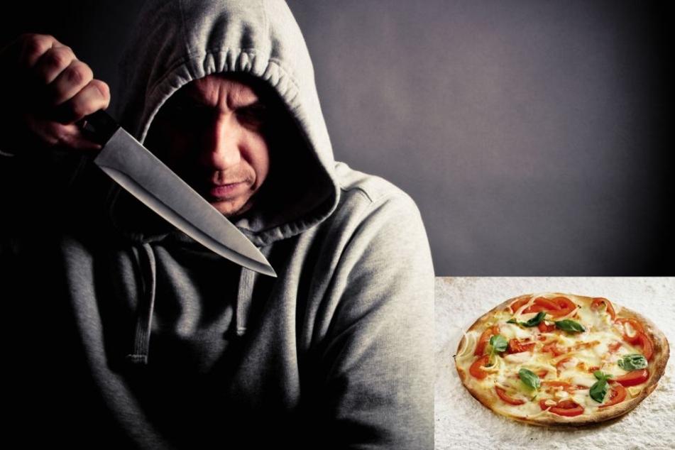 Einer der Täter soll den Pizza-Boten (19) mit einem Messer am Bein verletzt haben. (Symbolbild)