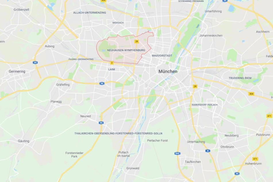Der schreckliche Übergriff auf die wehrlose Frau fand im Münchner Stadtteil Neuhausen statt.
