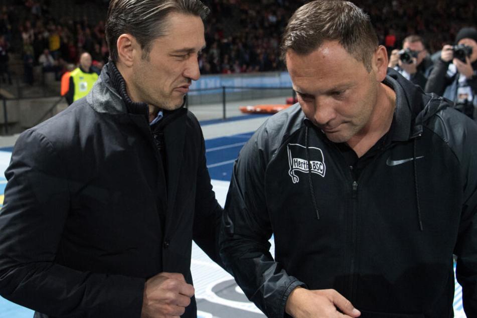 Niko Kovac trifft in Berlin im DFB-Pokal auf Hertha BSC und Pal Dardai. (Archivbild)