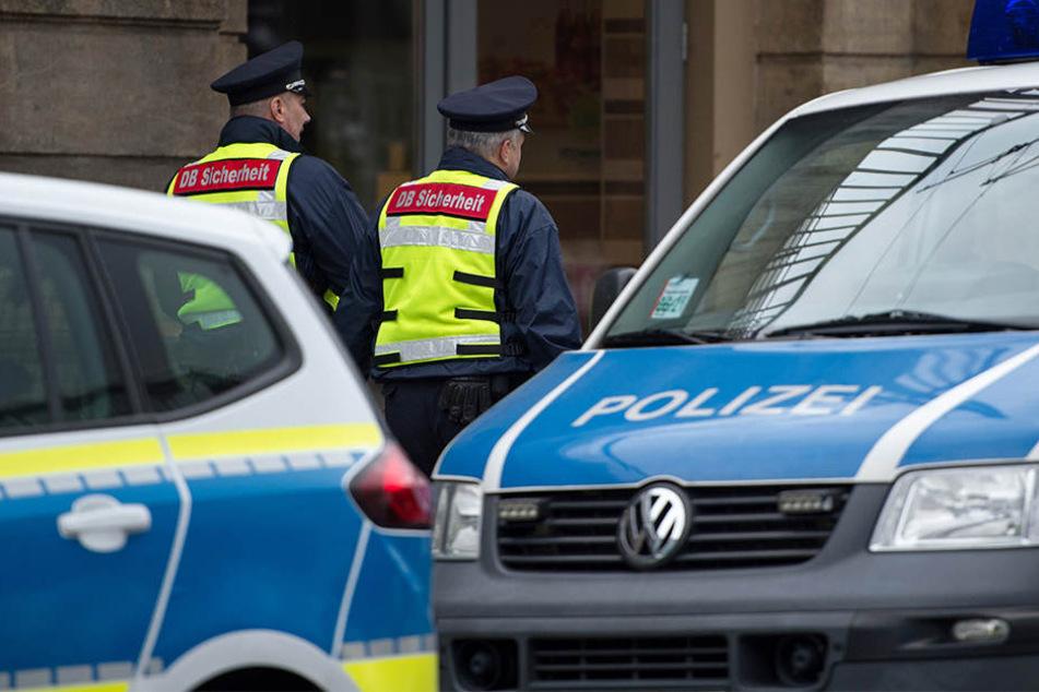 Die Polizei nahm am Sonntag einen mutmaßlichen Mörder am Dresdner Hauptbahnhof fest.