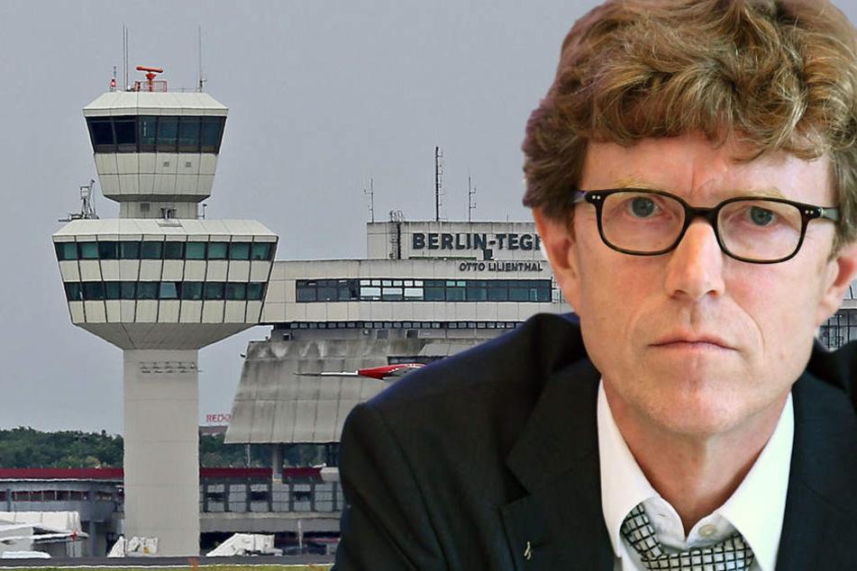 Für Flughafenchef Engelbert Lücke-Daldrup wäre die Sanierung von Tegel wirtschaftlich unklug.