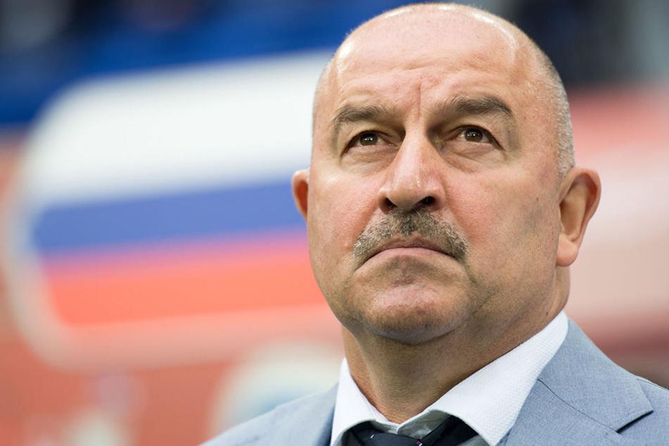 """Der russische Torwart coacht nun die """"Sbornaja""""."""