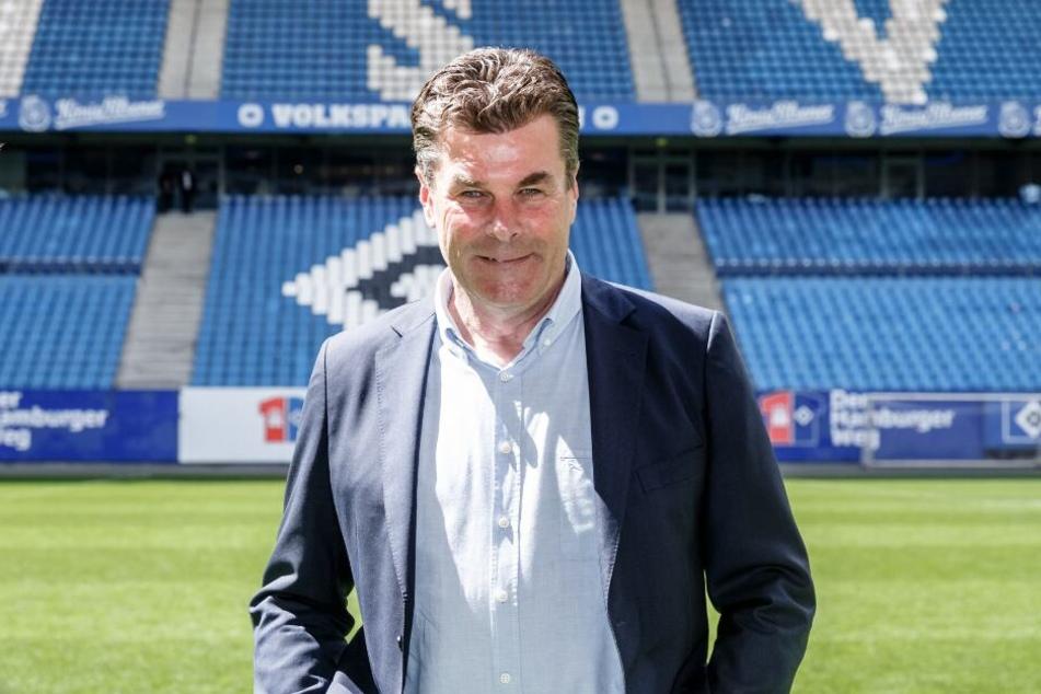 Coach Dieter Hecking will beim HSV bleiben.