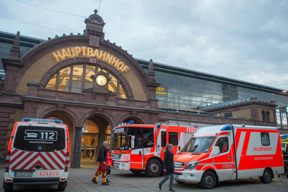 Der Hauptbahnhof war stundenlang gesperrt.