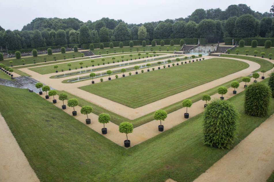 Ist wieder schön wie zu Augusts Zeiten: Der Barockgarten Großsedlitz.