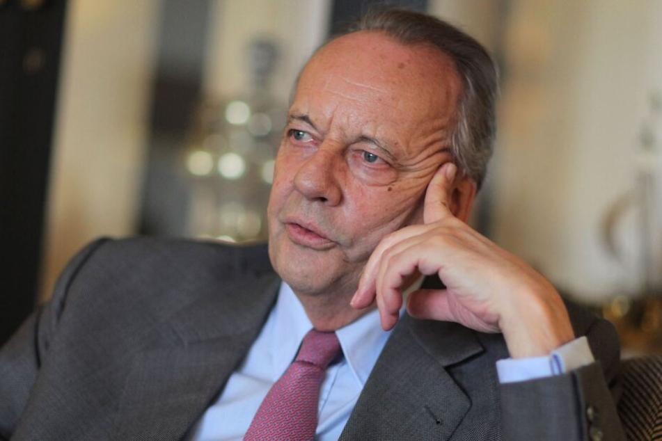 August Oetker wird am Sonntag 75 Jahre alt.