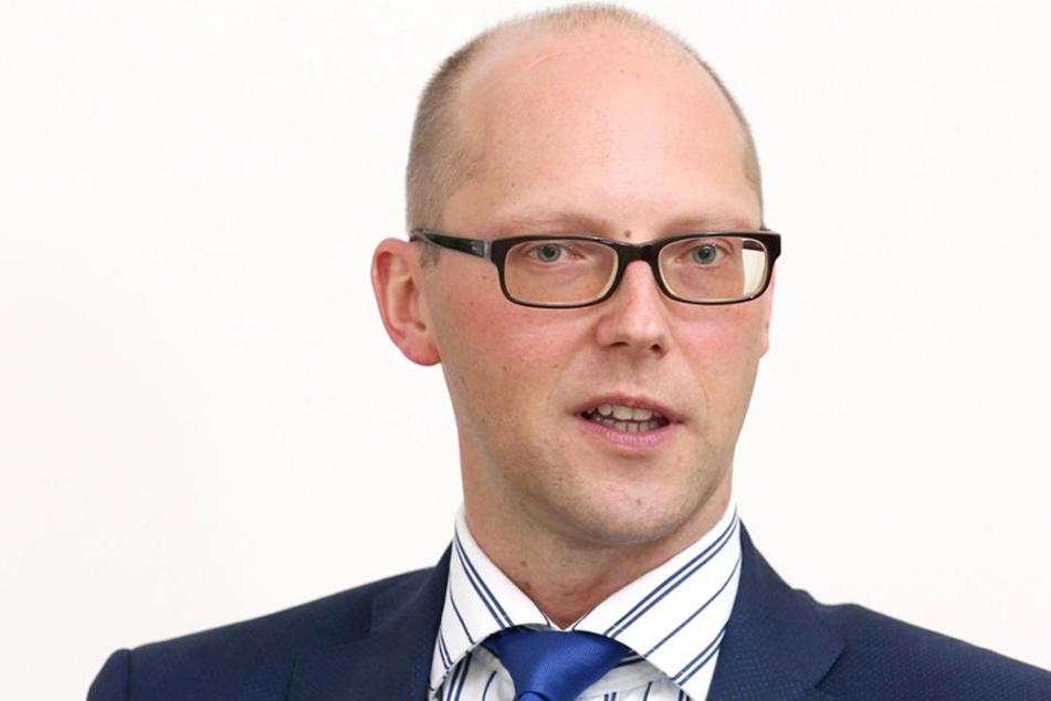 Tobias Leege, Vorstandssprecher des FSV Zwickau.