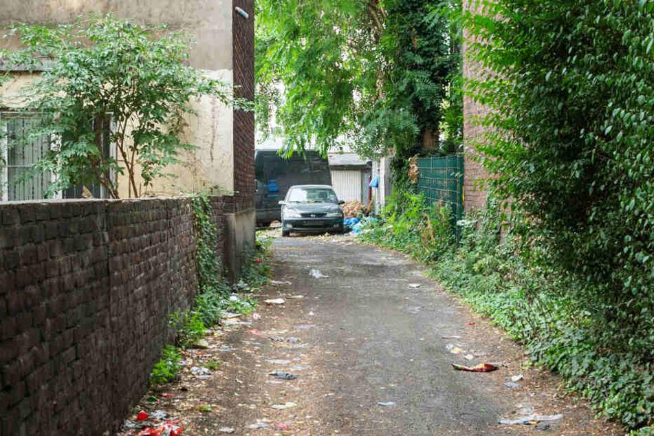 Ein Privatweg führt zu Garagen. Bei dem Streit vor dem BGH geht es um das Wegerecht. (Symbolbild)