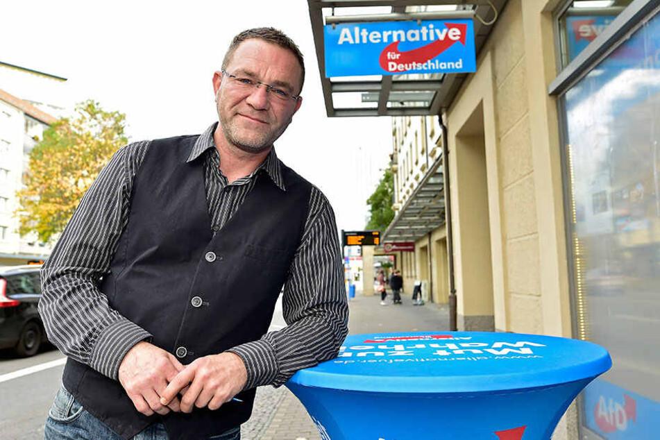 Jörg Vieweg (49) von der AfD kandidiert für den Bundestag
