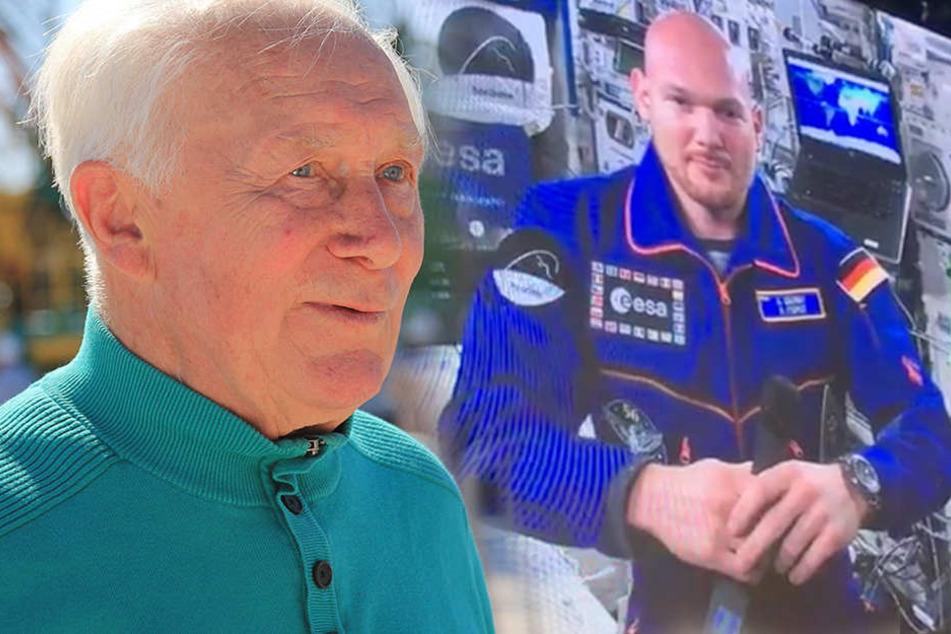 So gratuliert Astro-Alex Sigmund Jähn zum Jubiläum