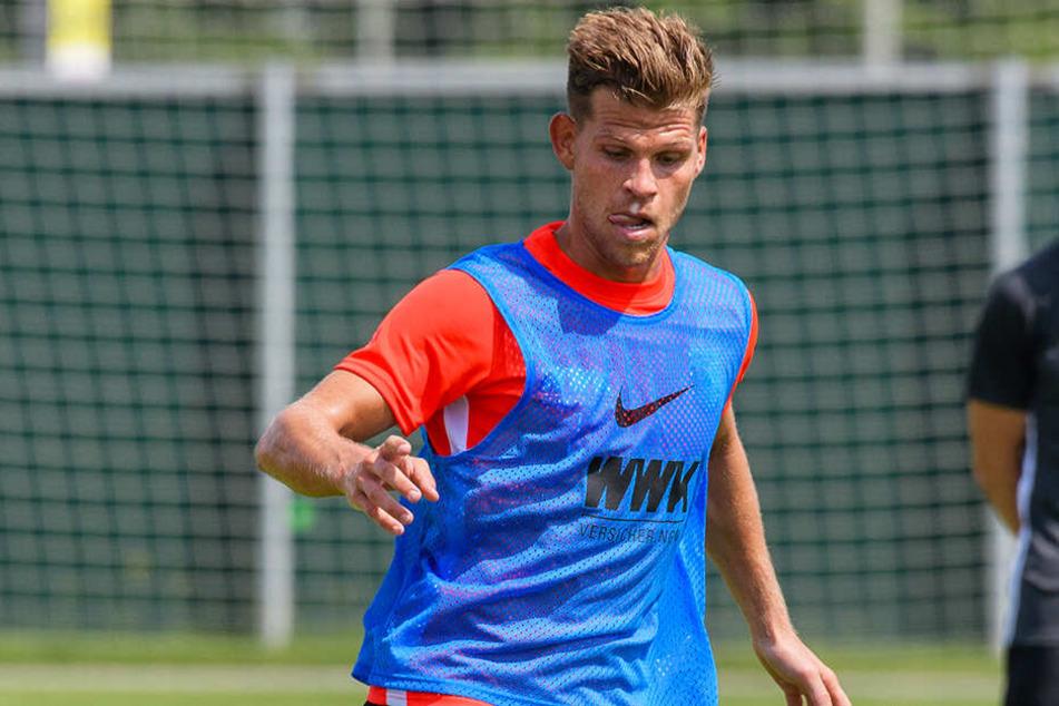 Florian Niederlechner macht beim FC Augsburg einen guten ersten Eindruck.