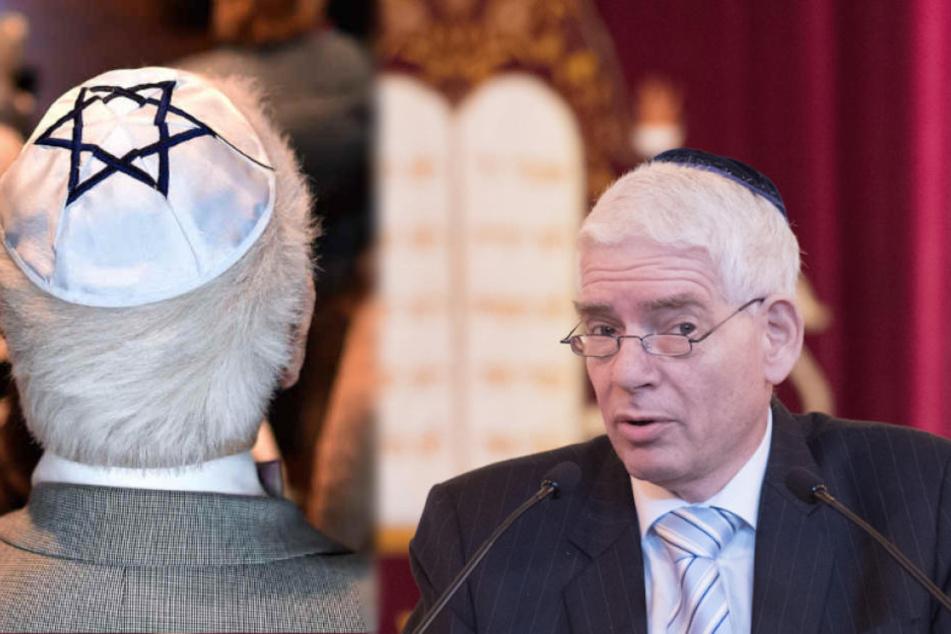 Dr. Josef Schuster (64), Präsident des Zentralrates der Juden,