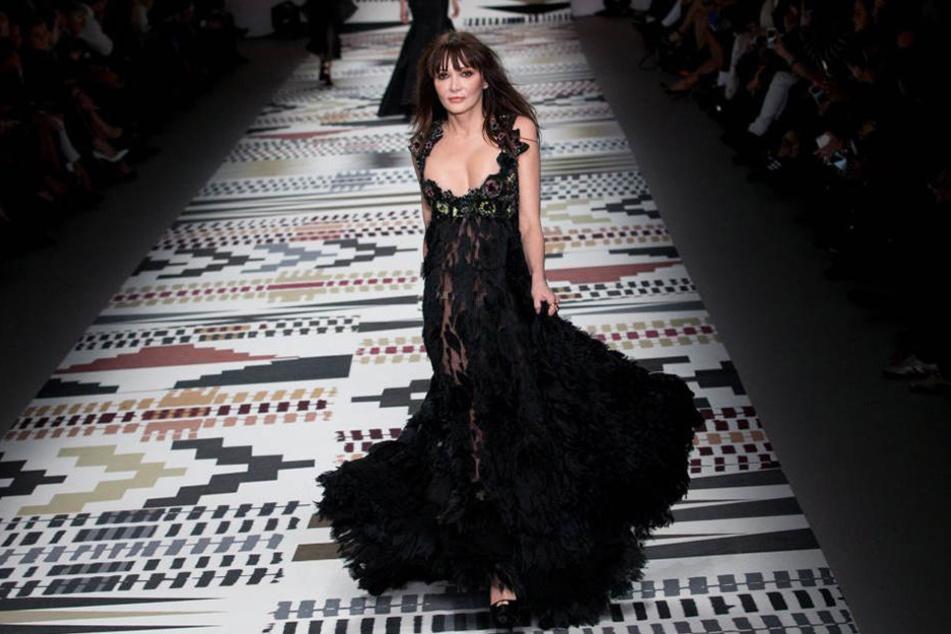Annabelle Neilson war selbst einmal als Model erfolgreich. Als Muse inspirierte sie Star-Designer Alexander McQueen.