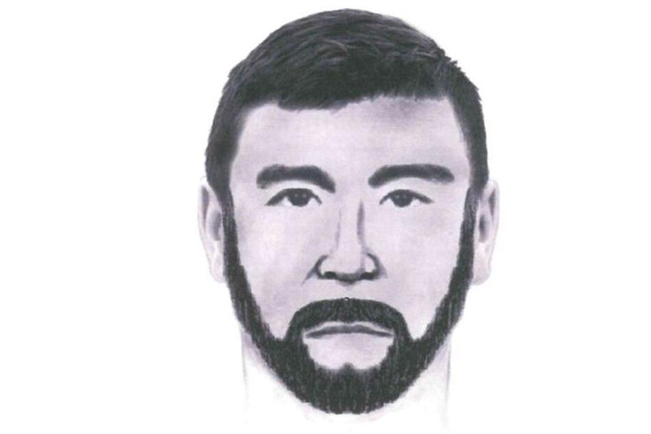 Die Polizei sucht mit diesem Phantombild. Wer kennt diesen Mann?