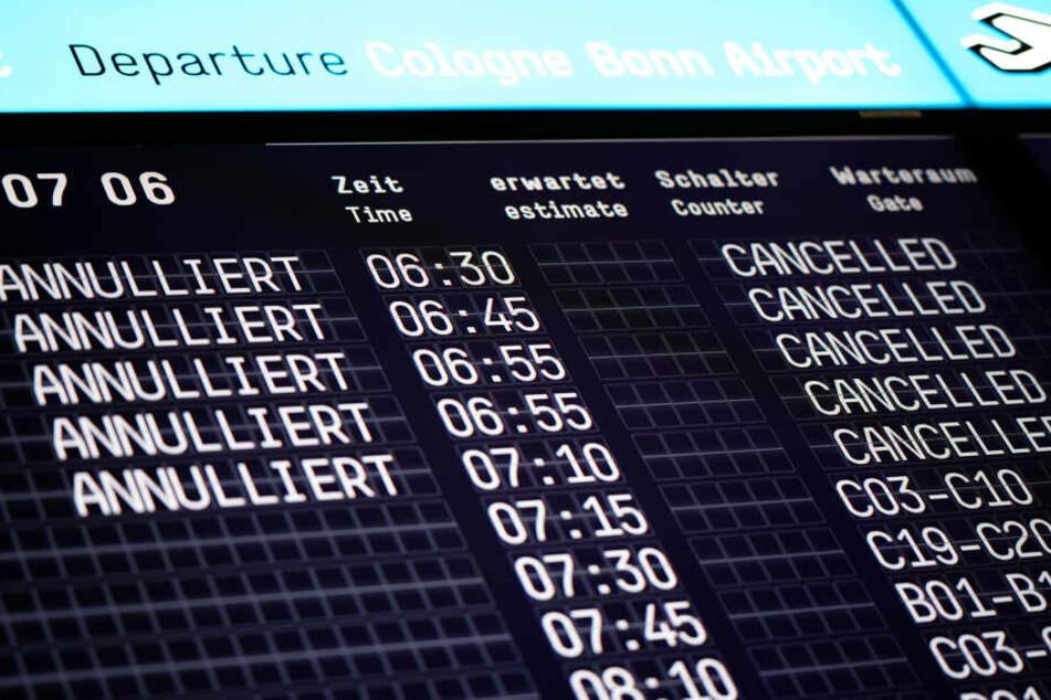 Die Gewerkschaft Ufo hat die Mitarbeiter der Germanwings zum Streik aufgerufen.