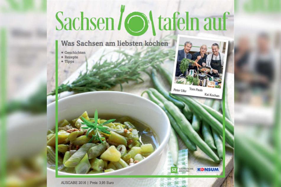 So sieht es aus: Das Kochbuch mit den besten sächsischen Rezepten (für nur 3,95 Euro!!).