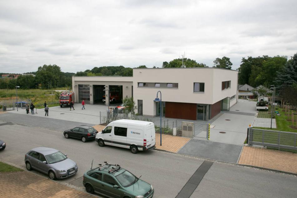 Die neue Rettungswache in Klotzsche kostete 3,4 Millionen Euro.
