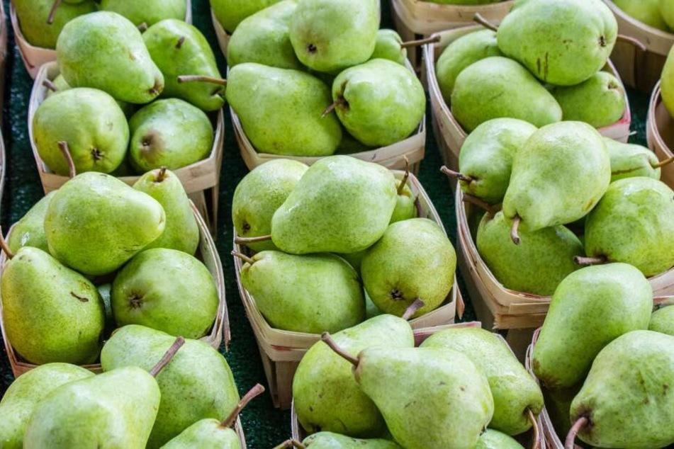 Birnen belegen Platz 7 der beliebtesten Obstsorten der Deutschen