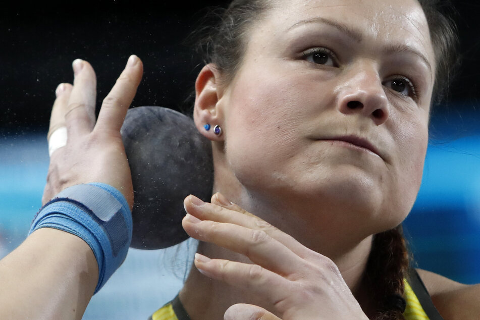 Holte in Polen EM-Bronze: Kugelstoßerin Christina Schwanitz (35).