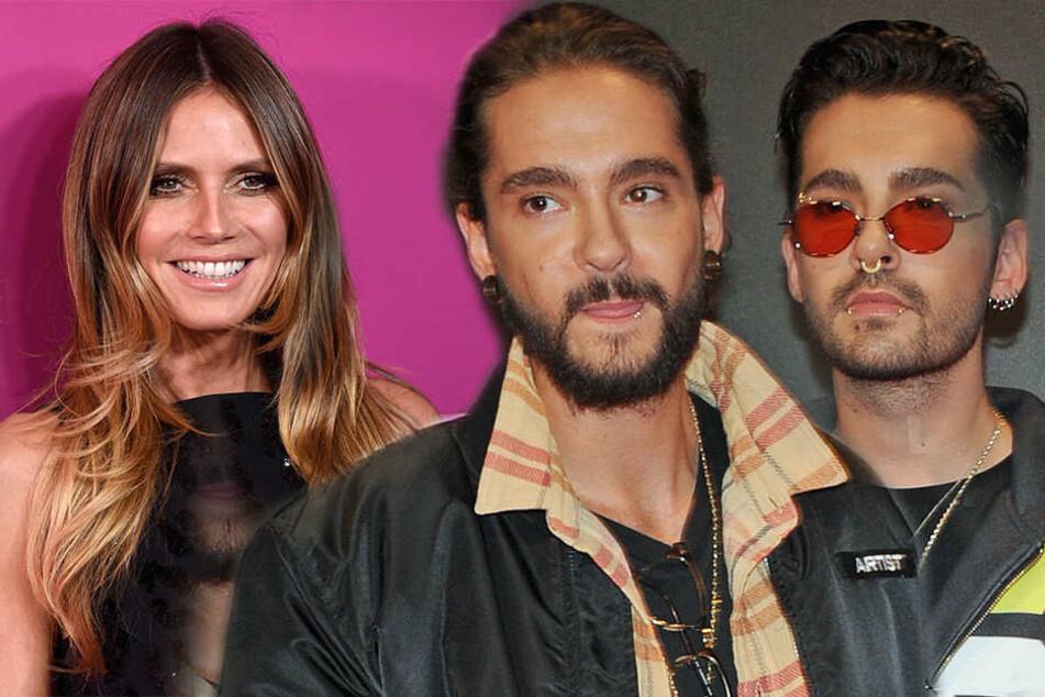 Flotter Dreier? Heidi Klum hängt nur noch mit beiden Kaulitz-Brüdern ab