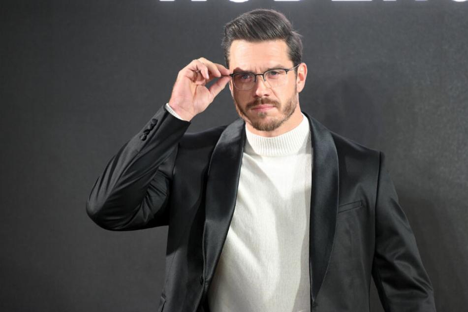 """Thomas Seitel war Überraschungs-Model bei der """"Rodenstock"""" Fashion Show."""