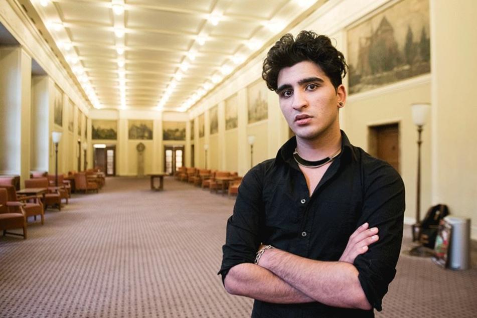Der Kampf des homosexuellen Moslems Nasser El-Ahmad kommt jetzt im Grips Theater auf die Bühne.