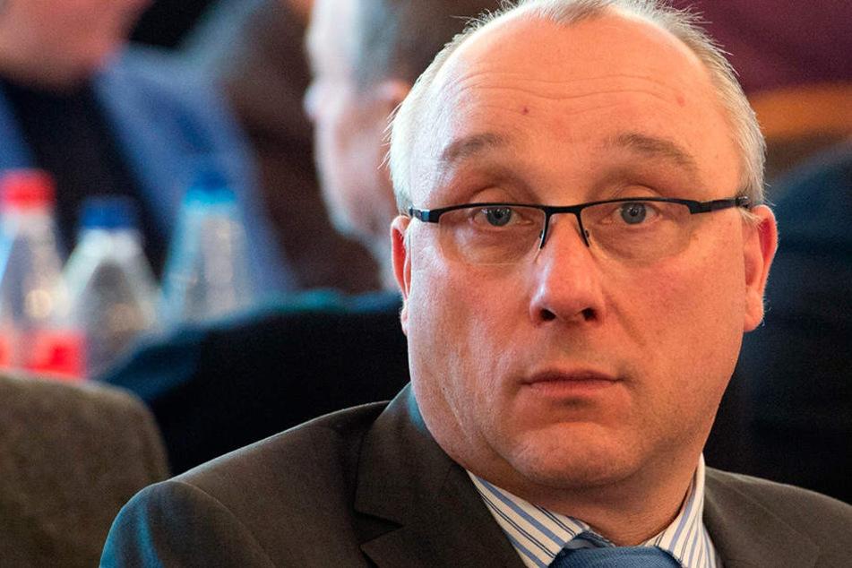 Der Dresdner AfD-Bundestagsabgeordnete Jens Maier (56).